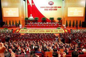Bế mạc Đại hội đại biểu toàn quốc lần thứ XIII của Đảng