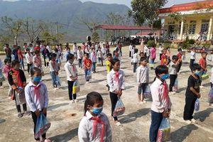 Lai Châu: Các trường cho học sinh nghỉ học từ 1/2 phòng, chống Covid-19
