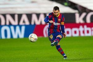 Messi ghi siêu phẩm, Barca vượt mặt Real Madrid