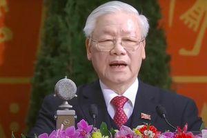 Ra mắt BCH TƯ khóa XIII, Tổng Bí thư Nguyễn Phú Trọng: Vinh dự càng cao, trách nhiệm càng lớn