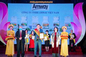 Amway Việt Nam lần thứ tám vinh dự nhận giải thưởng ''Sản phẩm vàng vì sức khỏe cộng đồng''