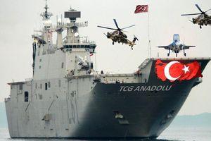 Biên đội tàu sân bay Thổ Nhĩ Kỳ gây 'thách thức nghiêm trọng' đối với Nga