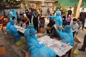 Sáng 2-2: Thêm một ca mắc mới trong cộng đồng tại Hải Dương