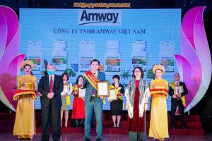 Amway Việt Nam: 'Sản phẩm vàng vì sức khỏe cộng đồng'