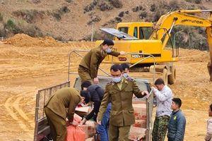 Lai Châu: Tiêu hủy hàng hóa là tang vật vi phạm hành chính bị tịch thu
