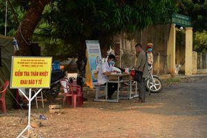 Kon Tum, Đắk Lắk, Quảng Trị thành lập chốt kiểm tra y tế