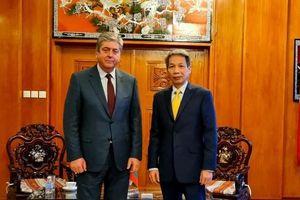 Cựu Tổng thống Bulgaria chúc mừng Đại hội XIII của Đảng Cộng sản Việt Nam thành công