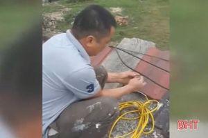 Trộm điện, một khách hàng ở Lộc Hà phải bồi thường 14,5 triệu đồng