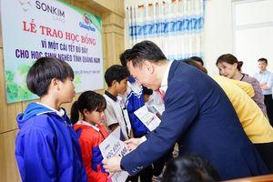 Sonkim Land trao học bổng 1 tỷ đồng cho học sinh nghèo Quảng Nam đón Tết