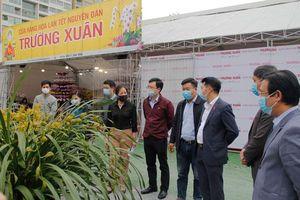 Khảo sát công tác quản lý chợ hoa xuân ở quận Hà Đông và Thanh Xuân