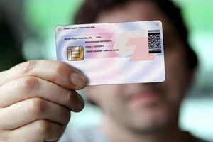 Mẫu thẻ Căn cước công dân gắn chíp điện tử