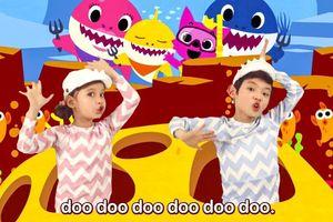 Lượt xem bài hát 'dỗ trẻ quốc dân' Baby Shark chính thức vượt mốc dân số Thế giới