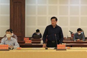 Gia Lai: Đoàn công tác Thứ trưởng Bộ Y tế làm việc về công tác phòng, chống dịch Covid-19
