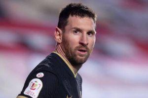 Messi giúp Barca vào bán kết Copa del Rey