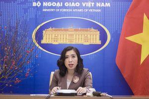 Bộ Ngoại giao thông tin về đường lối đối ngoại với Trung Quốc sau Đại hội XIII