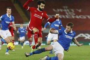 Quật ngã Liverpool ở Anfield, Brighton gây sốc sân cỏ Ngoại hạng Anh
