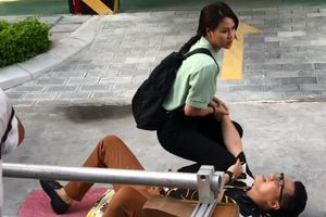 Hậu trường hài hước Việt Anh bị đánh trong 'Hướng dương ngược nắng'