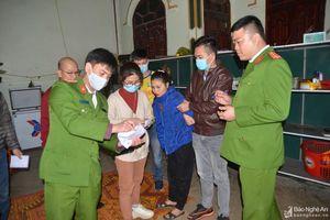 Ổ ma túy núp bóng cửa hàng tạp hóa của 3 cô gái ở Nghệ An
