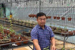 Vườn lan giá trị của chàng trai 8X Đô Ban Mê trên đất Buôn Ma Thuột