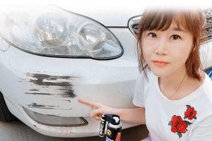 Đừng mơ dùng kem hay bút xóa sẽ sạch vết xước ôtô