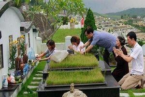Ngày cuối năm, các gia đình tảo mộ mời Tổ tiên về đón Tết