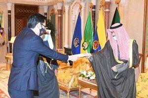 Đại sứ Ngô Toàn Thắng trình Thư ủy nhiệm lên Quốc vương Kuwait