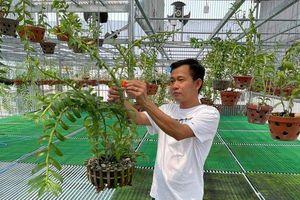 Chặng đường thành công của ông chủ vườn lan Phạm Minh Minh