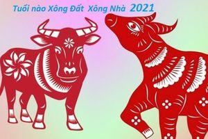 Cách chọn tuổi xông đất, xông nhà, mở hàng tốt nhất năm Tân Sửu 2021