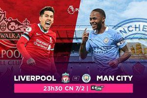 Liverpool vs. Manchester City: 'Man xanh' liệu có chồng chất thêm đau khổ cho Liverpool, trực tiếp trên VTVcab ON
