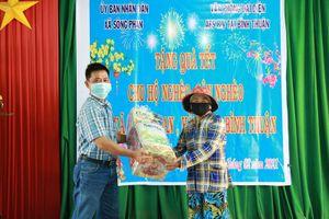 AES Việt Nam trao cái Tết ấm áp cho 100 hộ nghèo tỉnh Bình Thuận