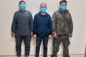 3 phu vàng nhập cảnh trái phép từ Lào vào Việt Nam