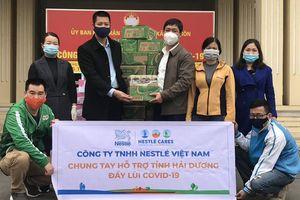 Nestlé Việt Nam sát cánh tuyến đầu phòng chống dịch COVID-19