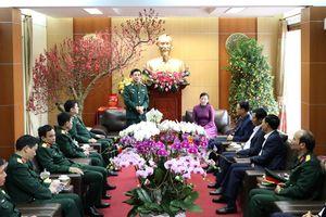 Thượng tướng Phan Văn Giang thăm, làm việc tại tỉnh Thái Nguyên