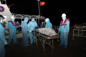 Cứu nạn thành công thuyền viên Philippines gặp nạn trên biển