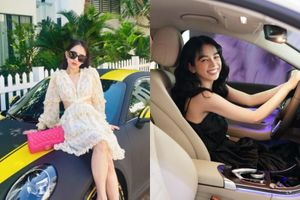 Sắm Tết toàn siêu xe, dàn hot girl Việt khoe 'gia cảnh' giàu xụ