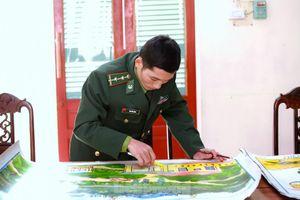 'Thế giới và cuộc chiến chống COVID-19' trên nét vẽ của bộ đội biên phòng