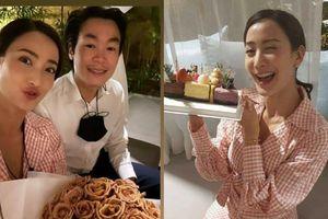 Sau loạt lùm xùm, Taew Natapohn hạnh phúc đón sinh nhật lần thứ 32 bên cạnh bạn trai và gia đình