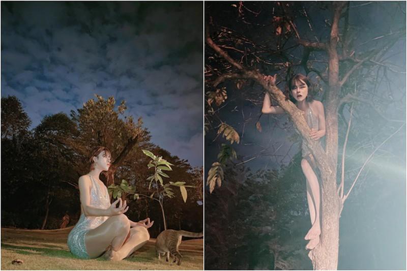 Ra bộ ảnh 'tiên nữ leo cây', Trần Đức Bo chiếm sóng trên mạng