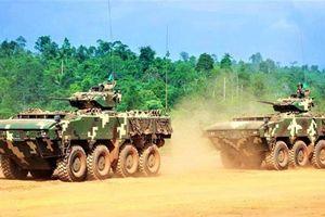 Nhận diện xe bọc thép AV-8 Gempita của Malaysia
