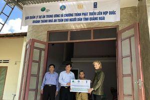 Kêu gọi xây dựng 100 căn nhà an toàn chống chịu bão, lụt cho hộ nghèo tỉnh Quảng Bình