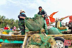 Ngư dân trúng đậm trong những chuyến đi biển cuối năm