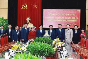 Bình Xuyên (Vĩnh Phúc): Xây dựng Đảng bộ trong sạch - vững mạnh