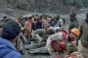 Ấn Độ tìm kiếm hơn 150 người mất tích sau thảm họa sạt lở sông băng Himalaya