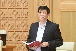 Bộ trưởng Bộ Y tế Nguyễn Thanh Long đề nghị TP Hồ Chí Minh giãn cách những nơi có dịch Covid-19