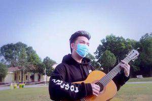 Ca sĩ Minh Vương M4U đón Tết xa nhà, thực hiện MV trong khu cách ly