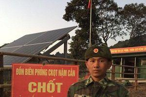 Người lính tự nguyện viết đơn ở lại trực Tết chống dịch Covid-19