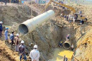 Dự án Cấp nước sông Đà giai đoạn II: 'Đuối' tiến độ vì đầu tư nhỏ giọt