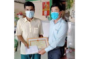 Chủ tịch UBND tỉnh Đồng Tháp gửi thư khen người có hành động đẹp