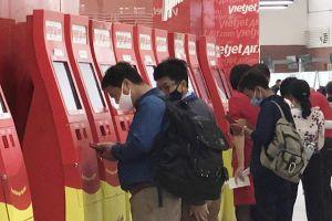 Vietjet khuyến cáo hành khách chủ động làm thủ tục trực tuyến
