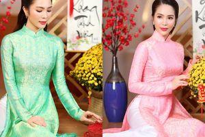 'Nàng Xuân' Dương Kim Ánh diện áo dài truyền thống, bật mí kế hoạch đón Tết